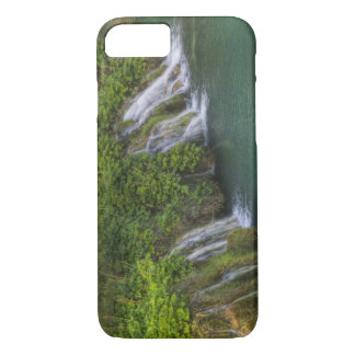 Waterfall, Plitvice Lakes National Park and iPhone 8/7 Case