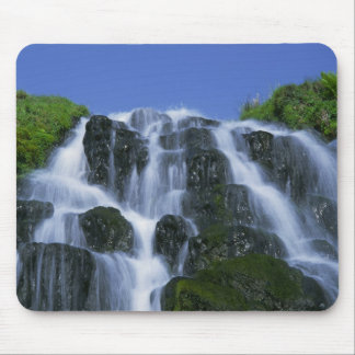 Waterfall, Portree, Isle of Skye, Highlands, Mouse Pad