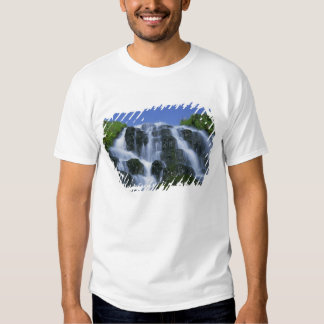 Waterfall, Portree, Isle of Skye, Highlands, Tshirts