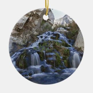 Waterfall Round Ceramic Decoration