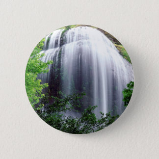 Waterfall Silver Falls 6 Cm Round Badge