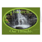 Waterfall-thoughts-customise any occasion card