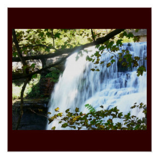 Waterfall Tropical Green Nature Name Personalize