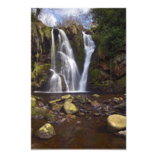 Waterfall - Valley of Desolation, Yorkshire Dales Photo