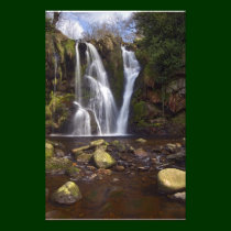 Waterfall - Valley of Desolation, Yorkshire Dales Photo Print