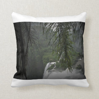 Waterfall White Edges Cushion