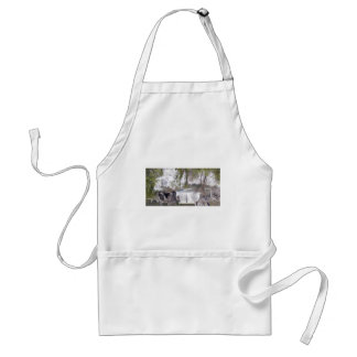 Waterfall with Branches Adult Apron