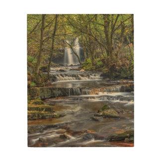 Waterfall Wood Wall Decor