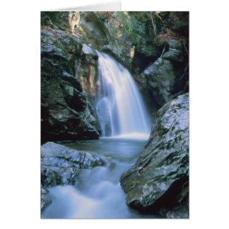 Waterfalls # 100 greeting card