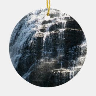 Waterfalls at Ithaca Falls New York Christmas Ornament