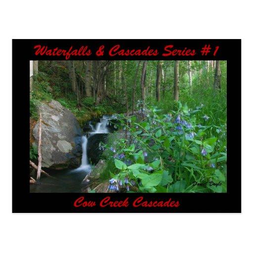 Waterfalls & Cascades Series #1 Postcards