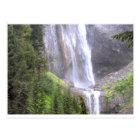 Waterfalls in Mt Rainier National Park Paradise Postcard
