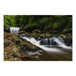 Waterfalls Lip Falls Gold Coast Australia Photo Print