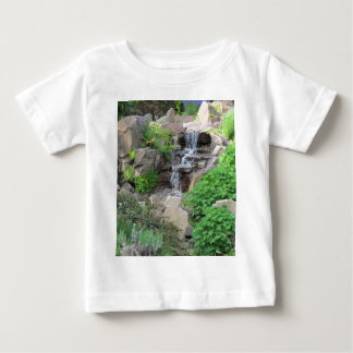 Waterfalls Nature Forest Scenery Photo Baby T-Shirt
