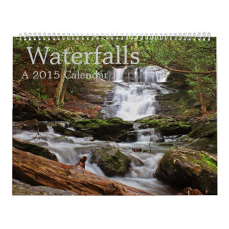 Waterfalls of the Southern Appalachians Calendar