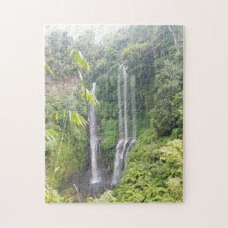 Waterfalls on Bali,Indonesia Jigsaw Puzzle