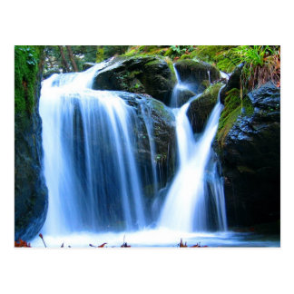 waterfalls postcard
