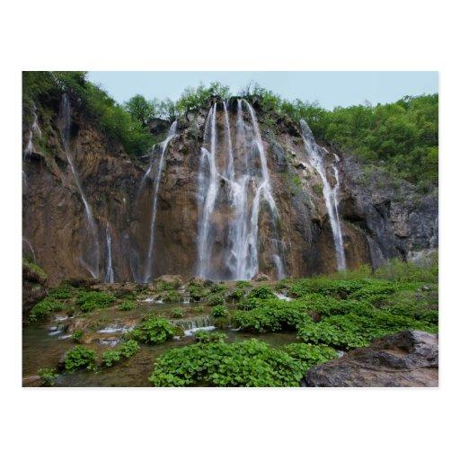 Waterfalls Post Card