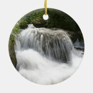 Waterfalls - Pro photo. Christmas Ornament