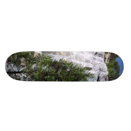 Waterfalls Trees Custom Skate Board
