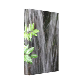 Waterfalls Wrapped Canvas