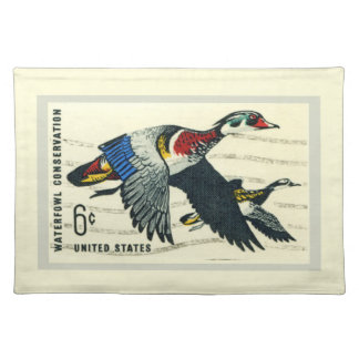 Waterfowl Conservation Placemats