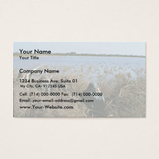 Waterfowl Hunt Business Card