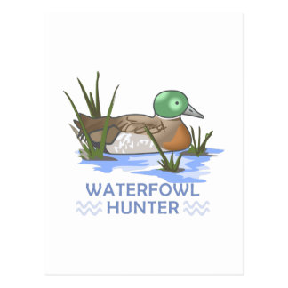 WATERFOWL HUNTER POSTCARDS