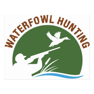Waterfowl Hunting Postcard