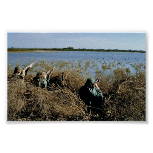 Waterfowl Hunting Poster