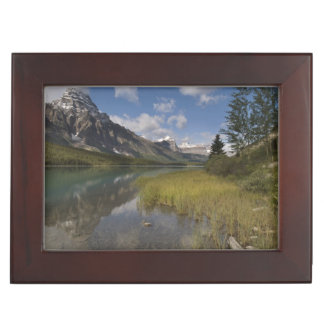 Waterfowl lake along the Icefields parkway, Keepsake Box