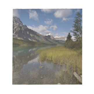 Waterfowl lake along the Icefields parkway, Notepad