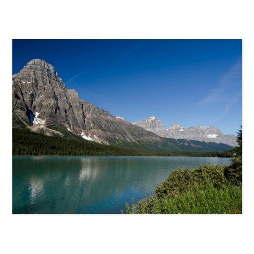 Waterfowl Lakes Icefields Parkway Alberta Canada Postcard