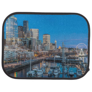 Waterfront and Downtown Car Mat