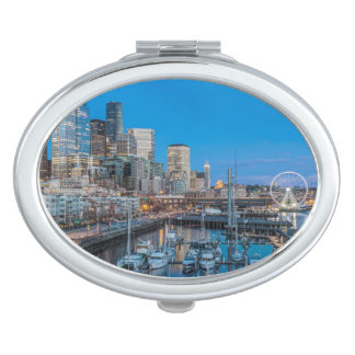 Waterfront and Downtown Mirror For Makeup