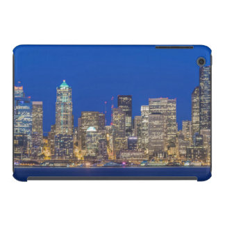 Waterfront and Downtown Skyline at Twilight iPad Mini Retina Covers