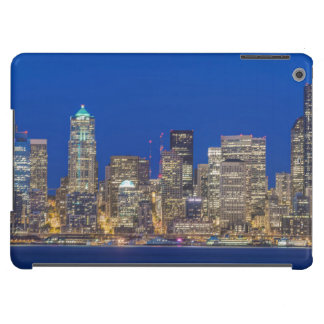 Waterfront and Downtown Skyline at Twilight iPad Air Cases