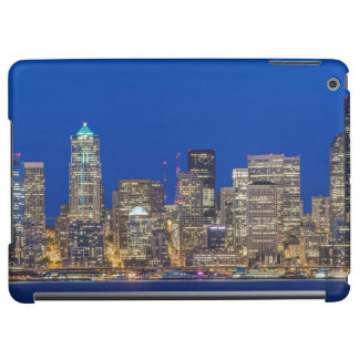 Waterfront and Downtown Skyline at Twilight iPad Air Case