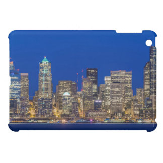 Waterfront and Downtown Skyline at Twilight iPad Mini Cases