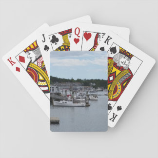 """""""Waterfront"""" Boothbay Harbor Classic Playing Cards"""