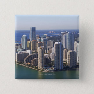 Waterfront City 15 Cm Square Badge