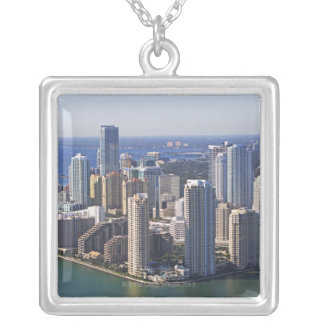 Waterfront City Silver Plated Necklace
