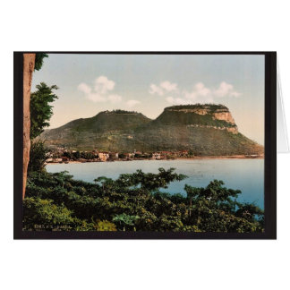 Waterfront, Garda, Lake of, Italy classic Photochr Greeting Card