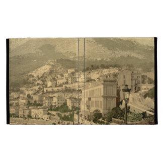 Waterfront, Monte Carlo, Monaco iPad Folio Cover