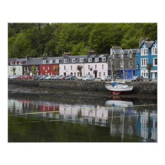 Waterfront, Tobermory, Isle of Mull, Scotland, 2 Poster