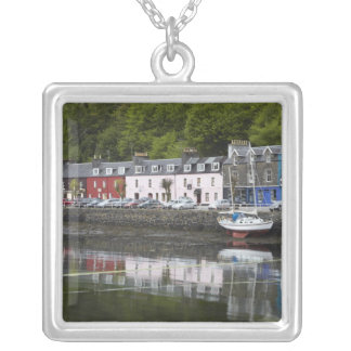 Waterfront, Tobermory, Isle of Mull, Scotland, 2 Silver Plated Necklace
