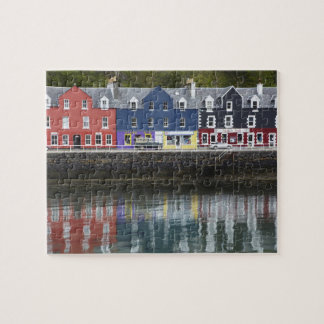 Waterfront, Tobermory, Isle of Mull, Scotland, Jigsaw Puzzle