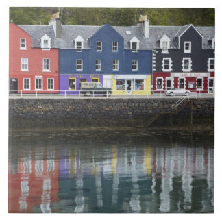 Waterfront, Tobermory, Isle of Mull, Scotland, Tile