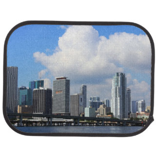 Waterfront view of Miami Car Mat