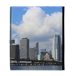 Waterfront view of Miami iPad Folio Cover